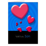 Happy Valentine's Day Son Greeting Card