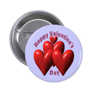 Happy Valentines Day T-shirts and Gifts 6 Cm Round Badge