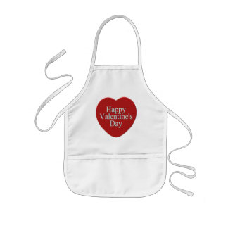 Happy Valentines Day T-shirts and Gifts Kids Apron