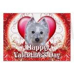Happy Valentines Day Westie