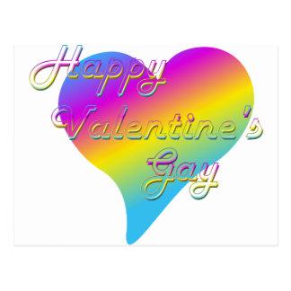 Happy Valentine's Gay Post Card