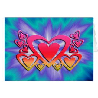 happy valentine's greeting card