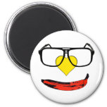 Happy Valentine's Pop Art Smiley Face Fridge Magnet