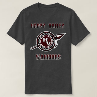 Happy Valley High School Warriors Tennessee T-Shirt