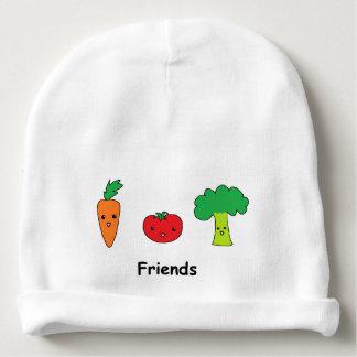Happy Vegetable Friends Baby Beanie