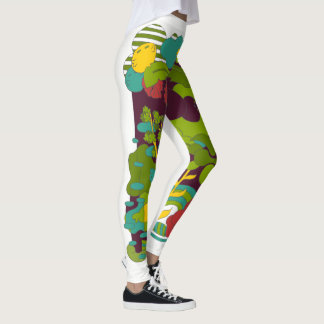 Happy vibes leggings