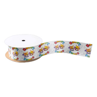 Happy Virus Product Range Satin Ribbon