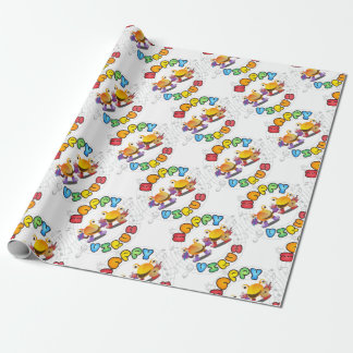 Happy Virus Product Range Wrapping Paper