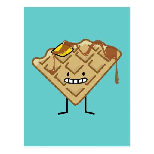 Happy Waffle Postcards