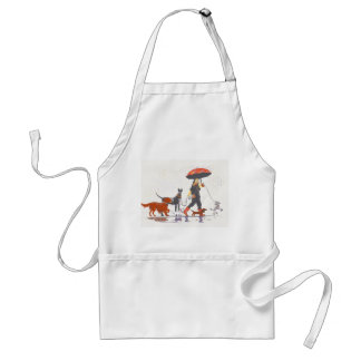 Happy walk standard apron