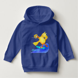 Happy Waterskiing by The Happy Juul Company Hoodie