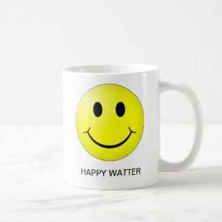HAPPY WATTER BASIC WHITE MUG