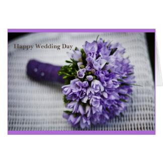 Happy Wedding Day Greeting Card