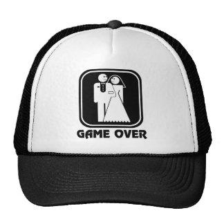 Happy Wedding Game Over Hat