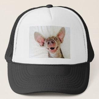 Happy Weimaraner Trucker Hat