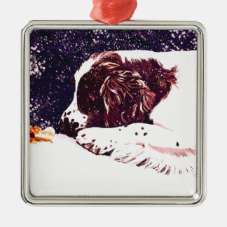happy Welshie holidays Christmas Ornament
