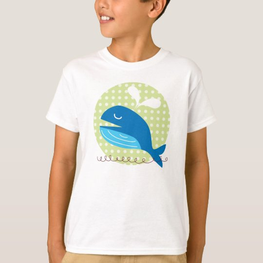 Happy Whale Kid's T-shirt