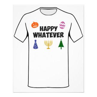 Happy Whatever Holiday 11.5 Cm X 14 Cm Flyer