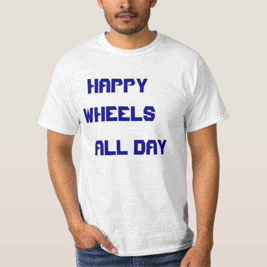 Happy Wheels Fan Show Off T-Shirt