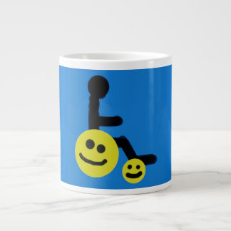Happy Wheels wheelchair coffee mug