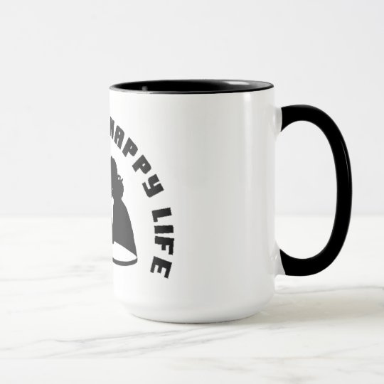 """Happy Wife Happy Life Coffee mug"" Mug"