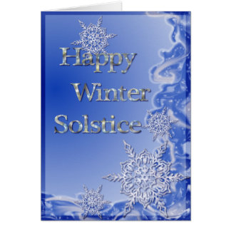 Happy Winter Solstice Greeting Card