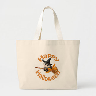 Happy Witch Canvas Bags