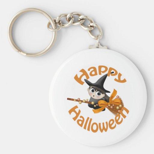 Happy Witch Keychain
