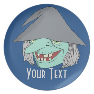 Happy Witch Party Plates