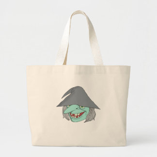 Happy Witch Jumbo Tote Bag