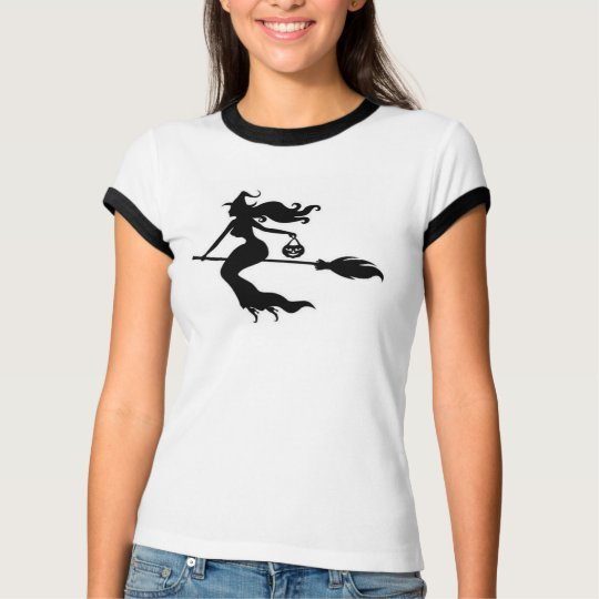 Happy Witch Women's TShirt Halloween