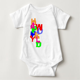 Happy World Baby Bodysuit