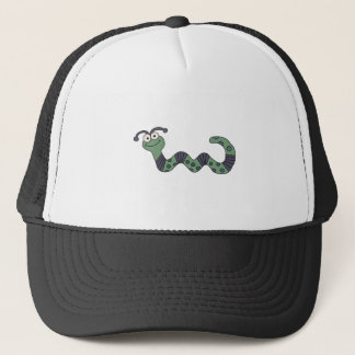 Happy Worm Trucker Hat