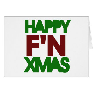 Happy Xmas humor Greeting Cards