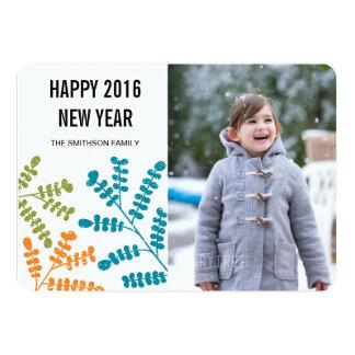 happy year new year card 13 cm x 18 cm invitation card