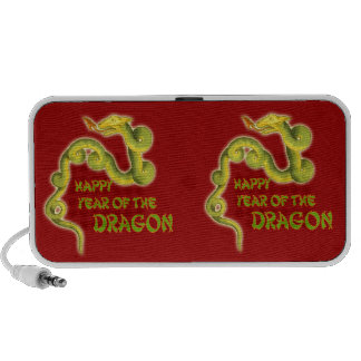 Happy Year of the Dragon Gifts Laptop Speakers