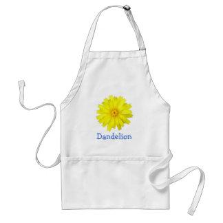 Happy Yellow Dandelion image Standard Apron