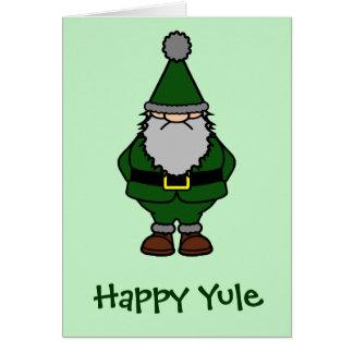 Happy Yule Card