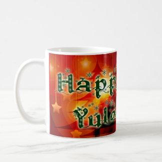 Happy Yule Mug (lower cost version)