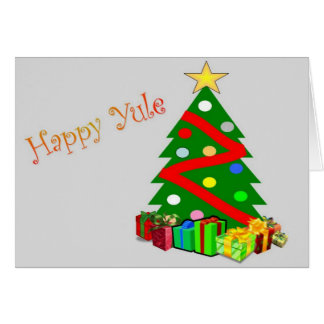 Happy Yule Note Card