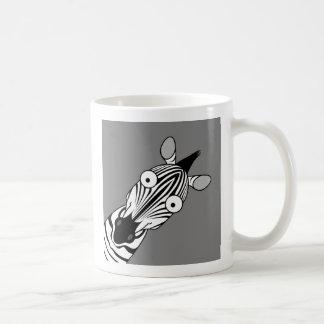 HAPPY ZEBRA COFFEE MUG