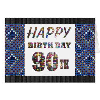 happybirthday happy birthday greeting 90 90th greeting card