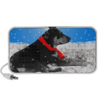 happyholidays-dog iPhone speaker
