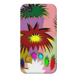 HappyHour Lotus Face Decorated Mask iPhone 4/4S Case