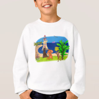 Happy's Lighthouse by The Happy Juul Company Sweatshirt