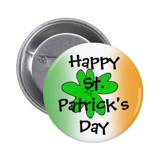 HappySt. Patrick'sDay 6 Cm Round Badge