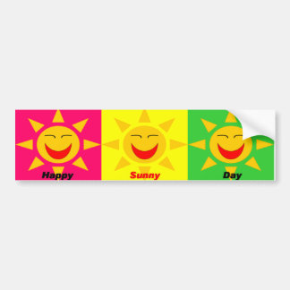 HappySunnyDay Bumper Sticker
