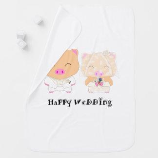 HappyWedding Baby Blanket