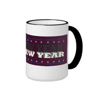 Hapy new year ringer mug