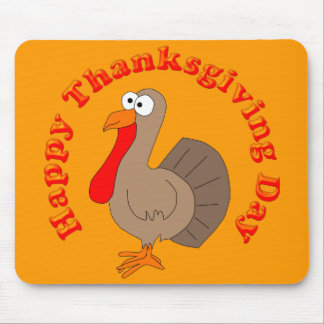 Hapy Thanksgiving Turkey Mousepad